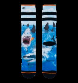 XPOOOS Xpooos Sokken Shark  ( 39 t/m 46 ) 202XPO09