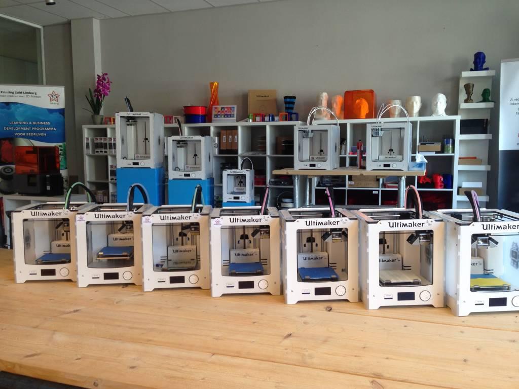 Service en reparatie 3D printers