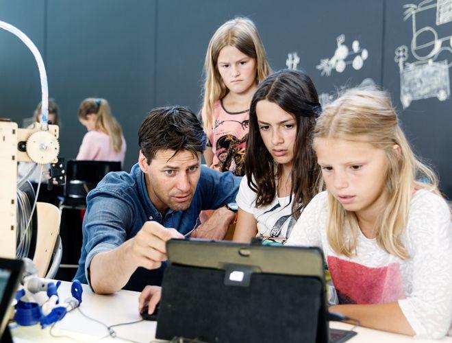 Opleiding 3D printen docenten