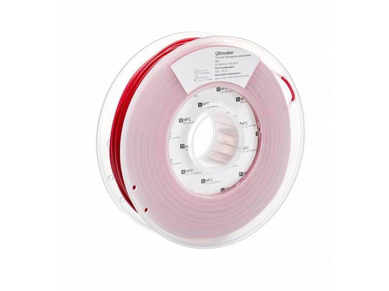 TPU Ultimaker Red