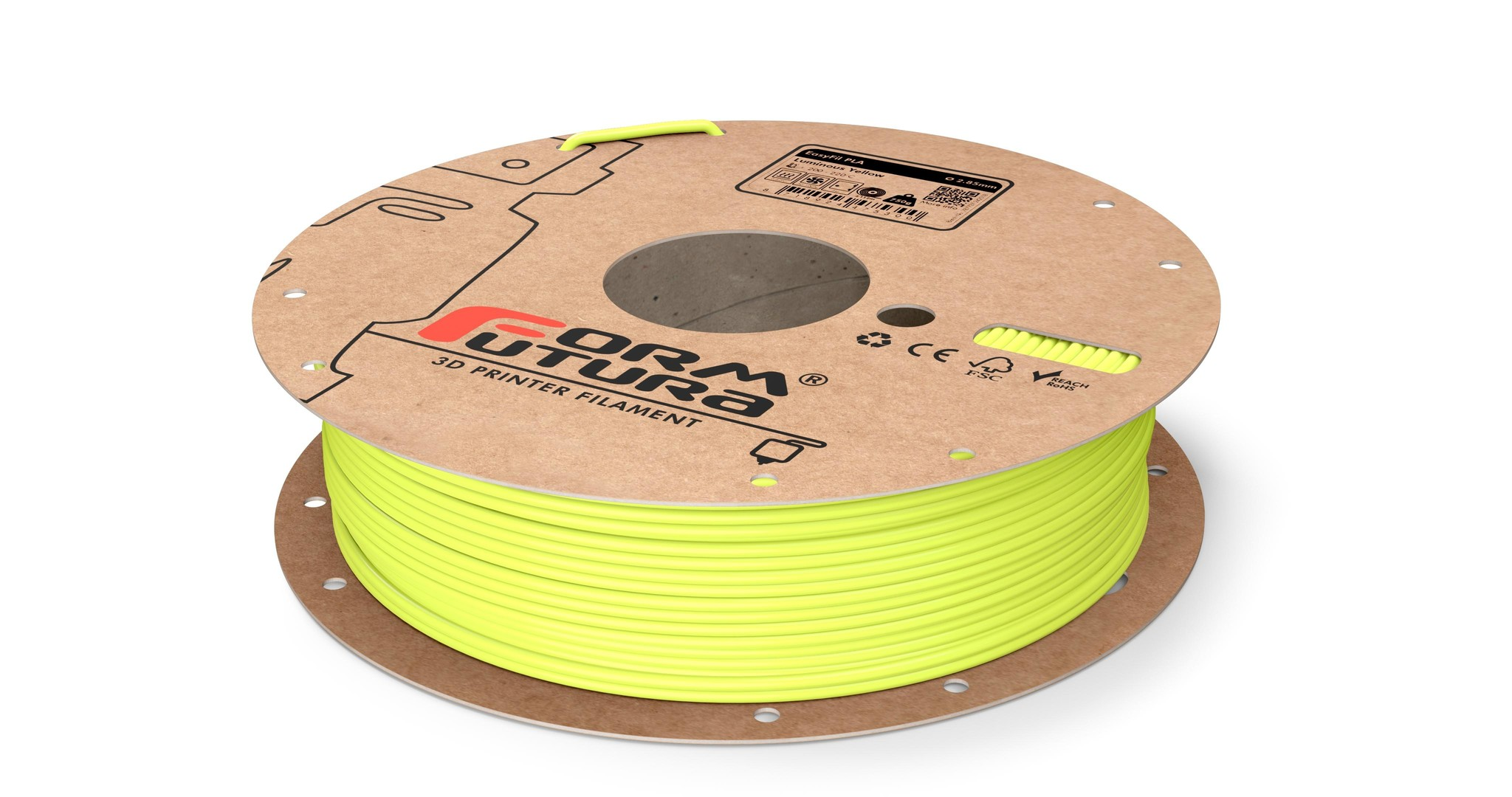 Formfutura EasyFil-PLA-Yellow-285-750g