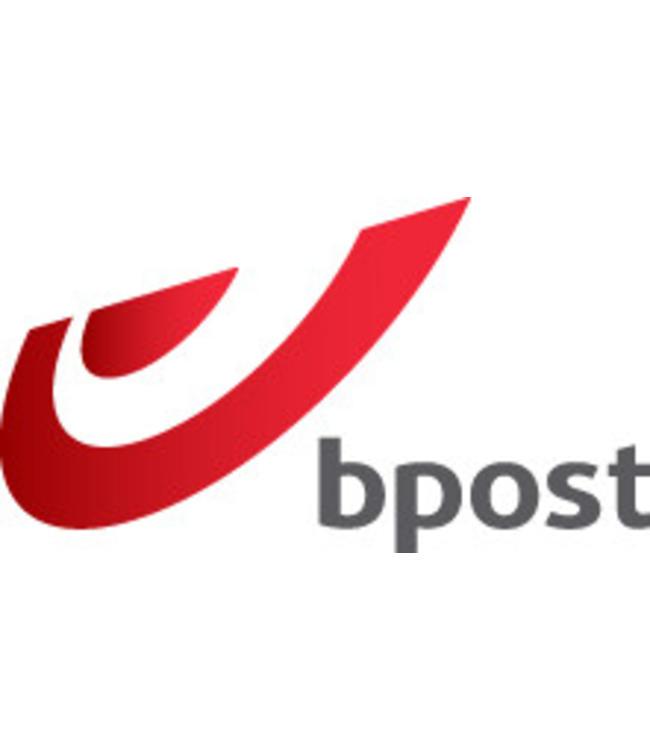 Etiquette postale BPost retour ((aller et retour)