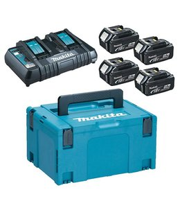 Makita Makita - grand kit de batterie Power (4 x 18V / 5Ah)