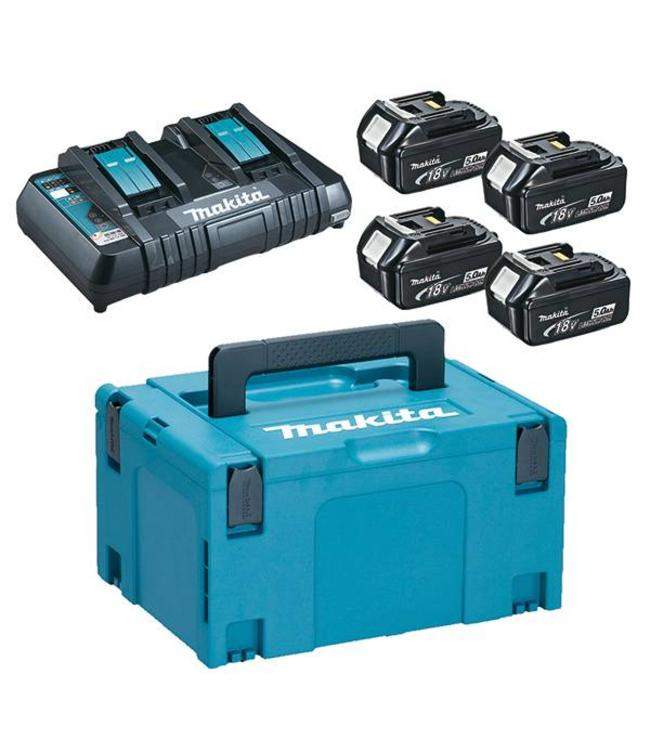 Makita Makita - Battery-Power Kit large (4 x 18V / 5Ah)