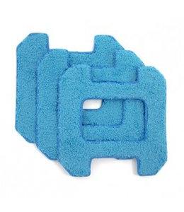 Hobot Lingettes de Remplacement pour Hobot 268, 288 & 298 bleu (3 unités)
