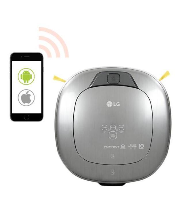 LG Electronics LG Hom Bot Home Care+ VSR9640PS  Robot Hoover - DEMO
