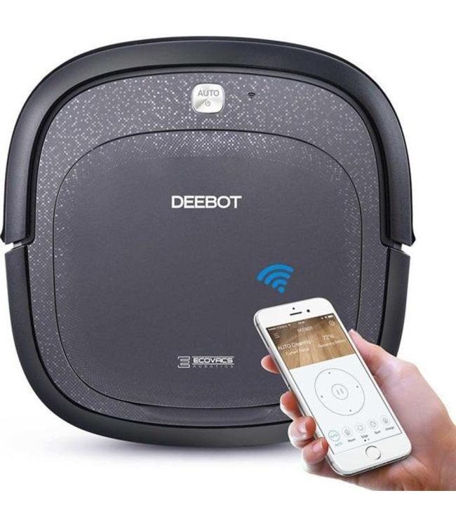 Ecovacs Deebot Slim V2- bestuurbaar via iOS en Android App