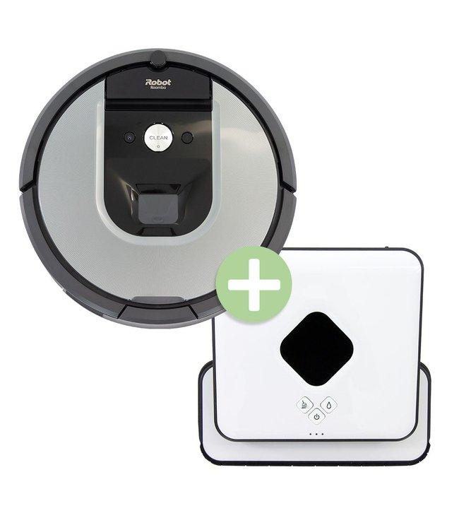 iRobot Bundle iRobot Braava 390T + Roomba 960