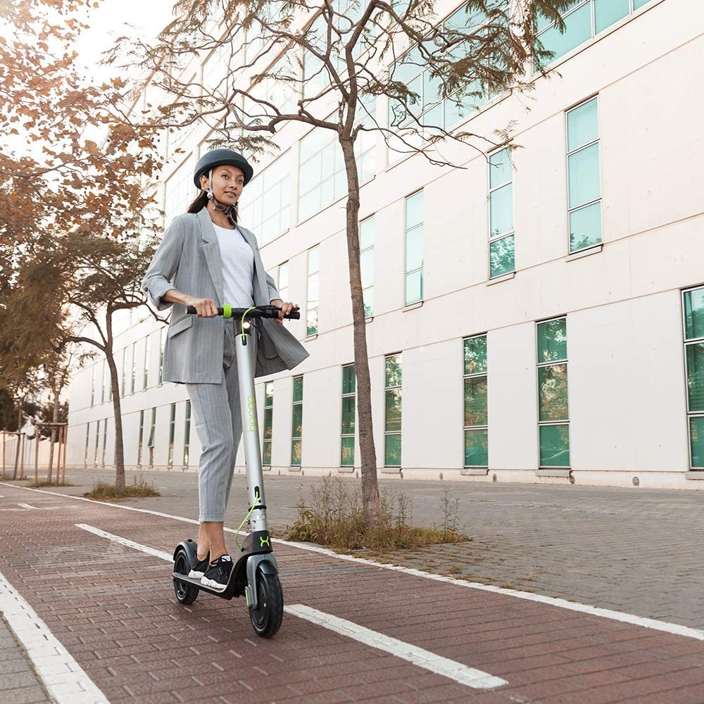 """8.5 /""""anti-burst wheels Unlimited autonomy from 25 km Cecotec Electric Scooter Bongo Serie A Connected Maximum power of 700 W Smartphone App Interchangeable battery"""