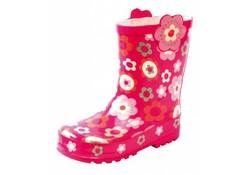 Gevavi Boots Girls PVC Roze Bloem Regenlaarzen Meisjes