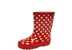 Gevavi Boots Stip Rood Rubber Regenlaarzen Kinderen
