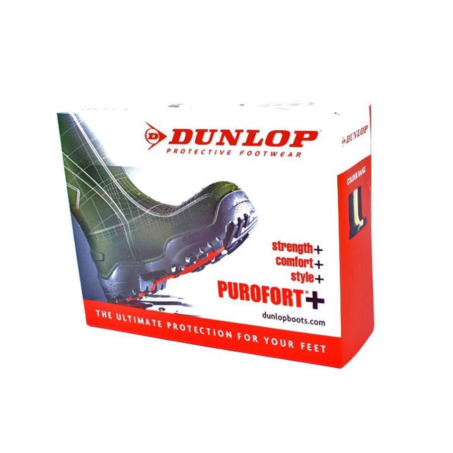 D760933 Purofort+ Groen Knielaarzen Uniseks