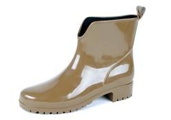 Gevavi Boots 400W PVC Beige Enkellaarzen Dames