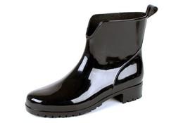 Gevavi Boots 400W PVC Zwart Enkellaarzen Dames