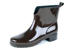 Gevavi Boots 400W PVC Bruin Enkellaarzen Dames