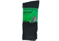 Gevavi Workwear GW84 Basic Zwart 3 Paar/Bundel Sportsokken
