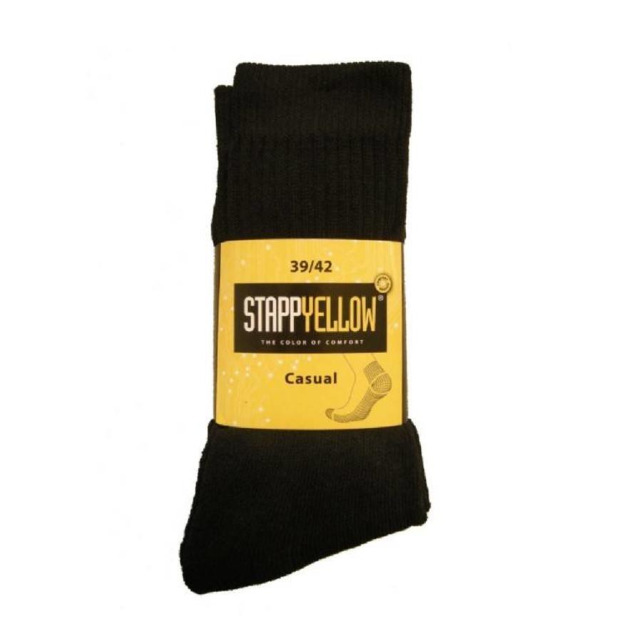 4400 Yellow Casual Zwart Sokken