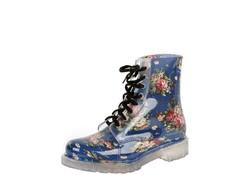 Gevavi Boots Yara PVC Blauw Regenlaarzen Dames