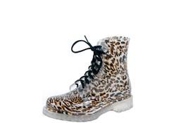 Gevavi Boots Nora PVC Panter Regenlaarzen Dames