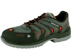 Dunlop Protective Footwear Racer Grijs Zwart Lage Veiligheidsschoenen S1P Heren