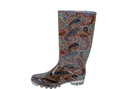 Gevavi Boots Chic PVC Bruin Laarzen Dames