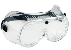 Gevavi Safety GP62 Panorama Ventilatie Blank Veiligheidsbril 5 Paar