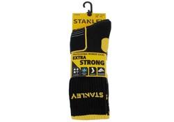 Stanley ST02 Extra Strong Zwart 2 Paar/Bundel Sokken