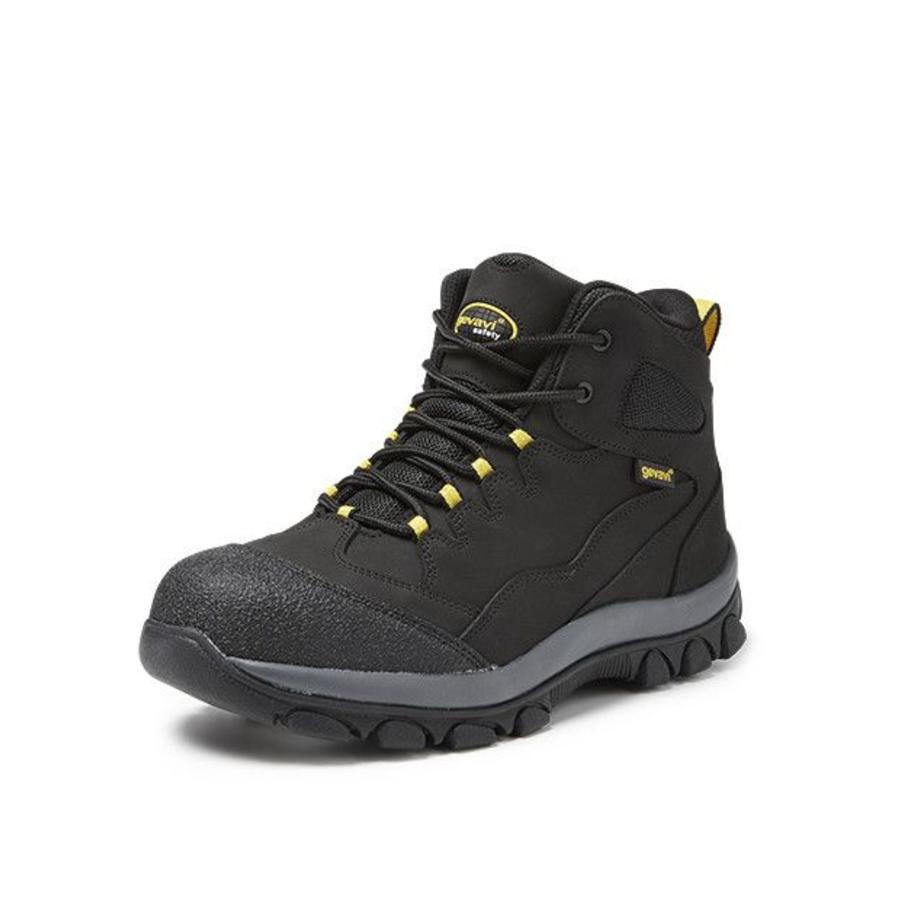 GS48 Zwart Werkschoenen  S3 Heren