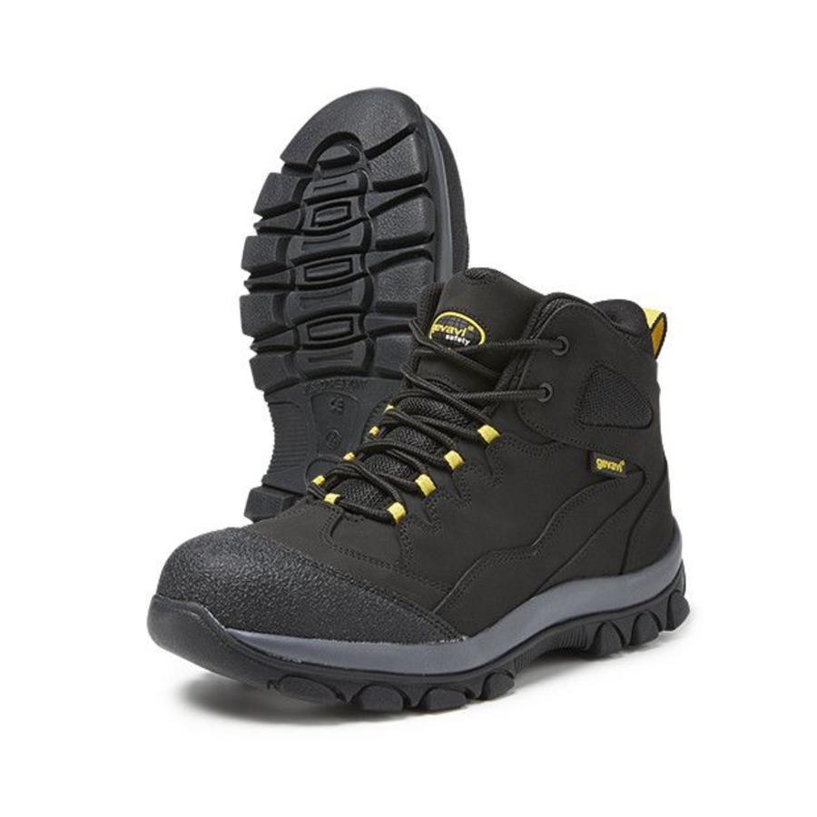 Werkschoenen Gevavi.Gevavi Safety Gs48 Zwart Hoge Veiligheidsschoenen S3 Heren