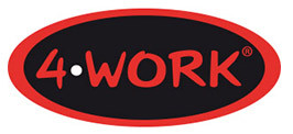 4WORK - 4W12 hoge veiligheidsschoen S3 zwart