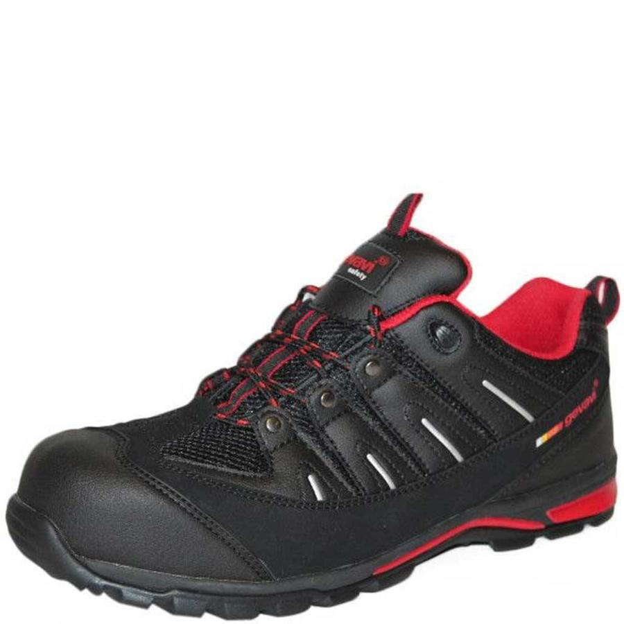 GS33 Zwart Werkschoenen S1P Heren