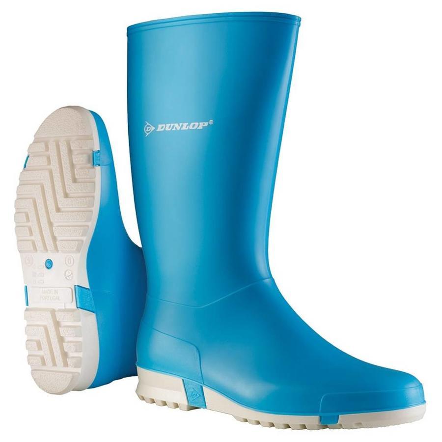 K255111 Licht Blauw Sportlaarzen PVC Dames
