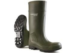 Dunlop C462933 Purofort Groen Knielaarzen S5 Uniseks