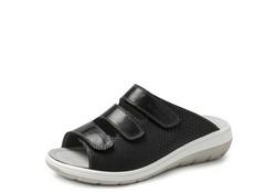 BigHorn 4201 Zwart Gezondheids Slippers Dames