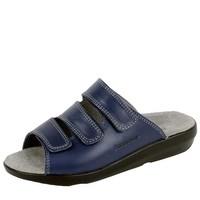 3201 Blauw Slippers Dames