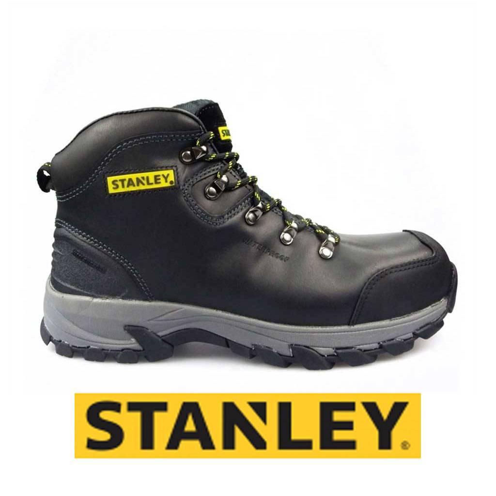 Werkschoenen Heren.Stanley Kingston Zwart Hoge Veiligheidsschoenen S3 Heren