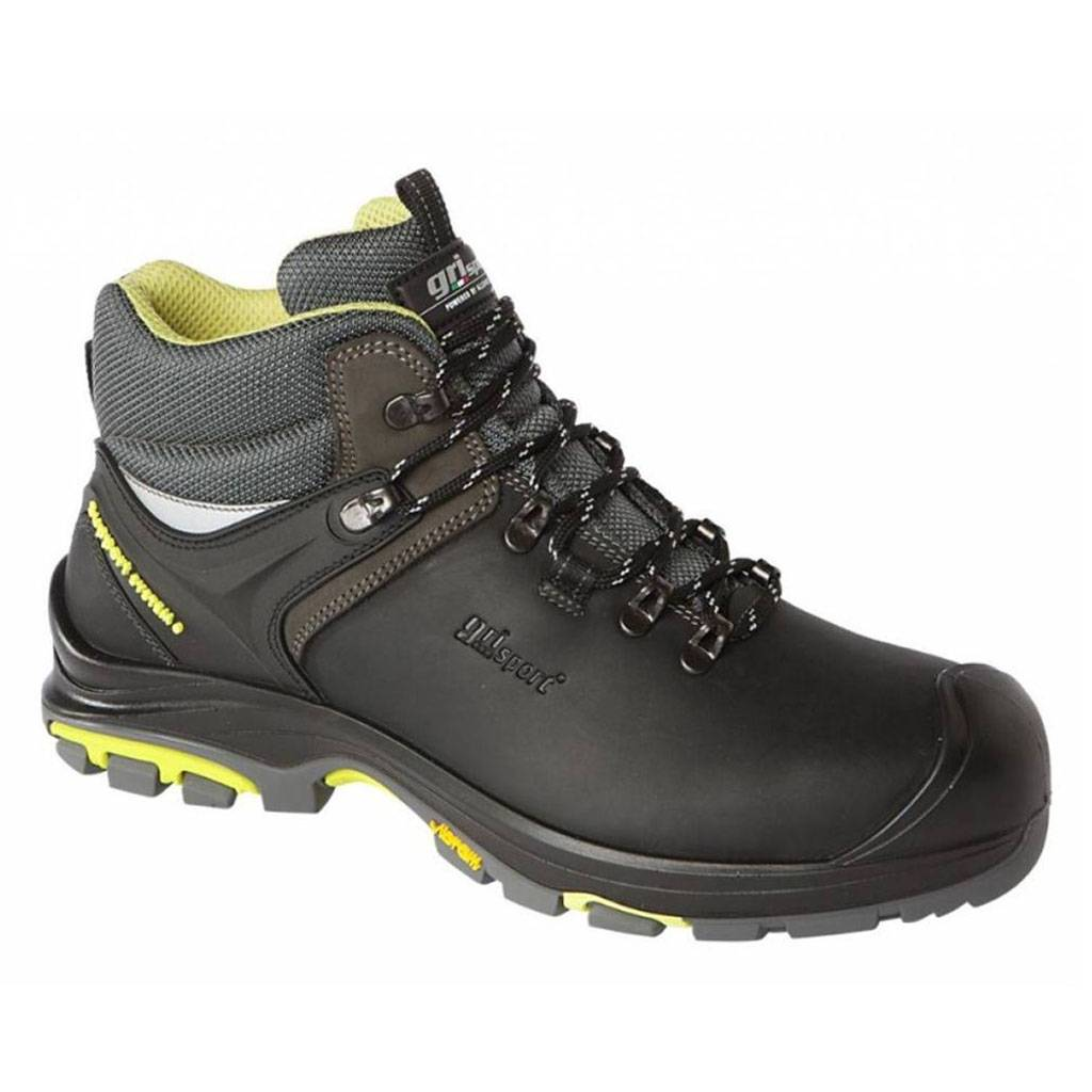 Werkschoenen Slagerij.Grisport Safety Tundra S3 Zwart Werkschoenen Heren