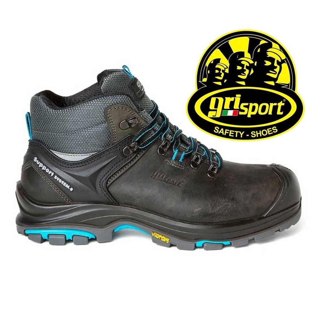 Werkschoenen Heren S3.Grisport Satefy Helios S3 Zwart Werkschoenen Heren