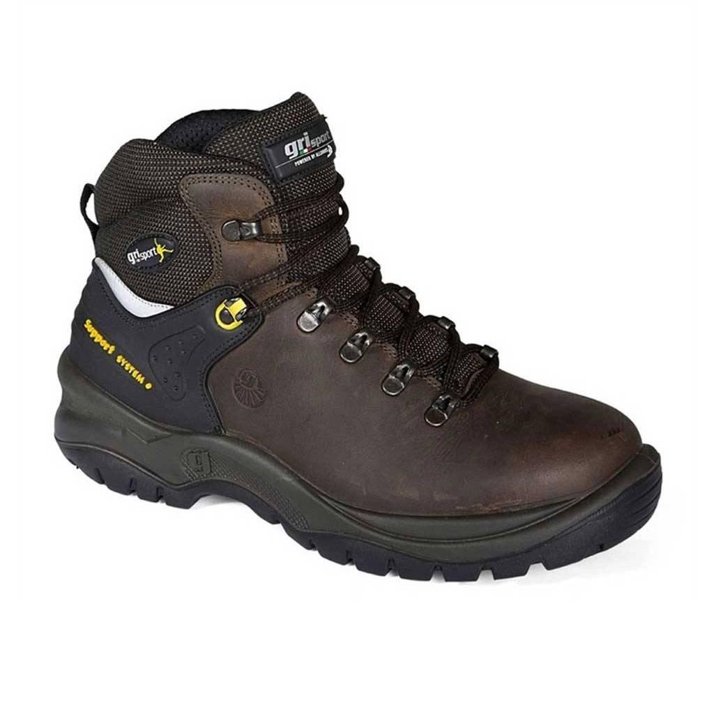Speciale Werkschoenen.Grisport Safety 773 L S3 Bruin Werkschoenen Heren