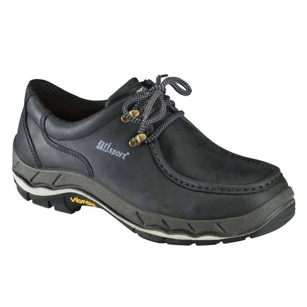 Werkschoenen Slagerij.Grisport Safety 71621 S3 Zwart Werkschoenen Uniseks
