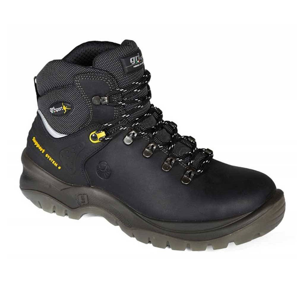 Werkschoenen Heren.Grisport Safety 70072 Zwart S2 Werkschoenen Heren