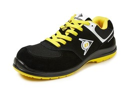 Dunlop Protective Footwear Flying Sword S3 Zwart Geel Lage Veiligheidssneakers Heren