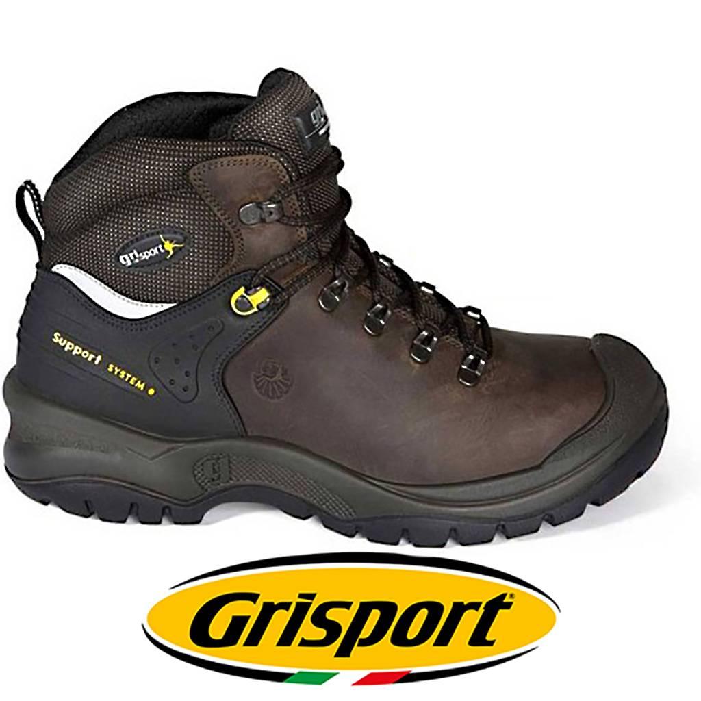 Werkschoenen Heren.Grisport Safety 703 L S3 Bruin Werkschoenen Heren