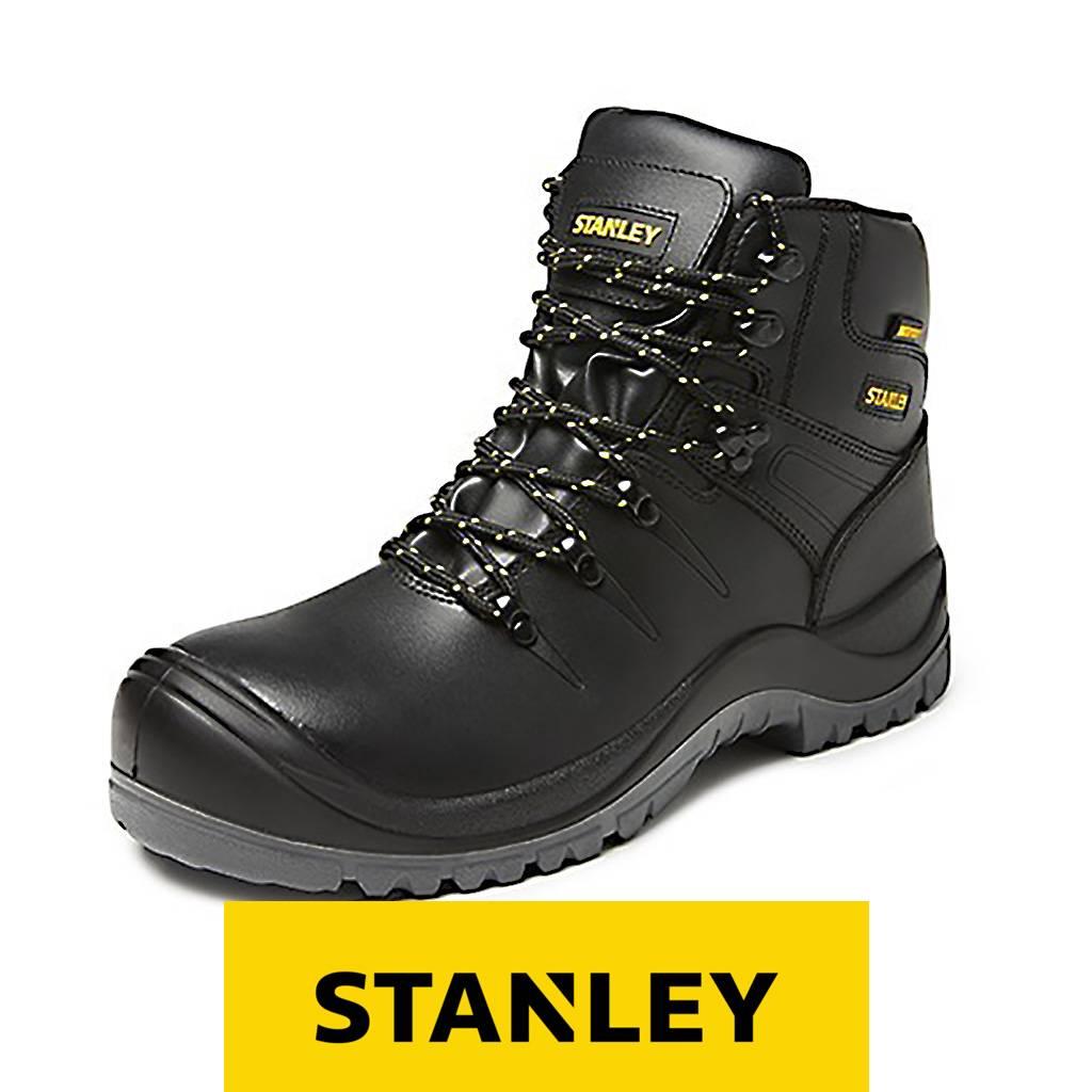 Werkschoenen Achteraf Betalen.Stanley Samos S3 Zwart Hoge Veiligheidsschoenen Heren