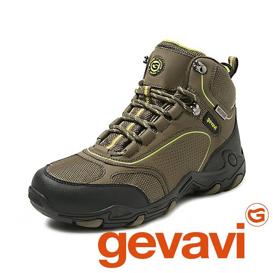 GH04 Graz Kaki Hoog Hiking Schoenen Dames