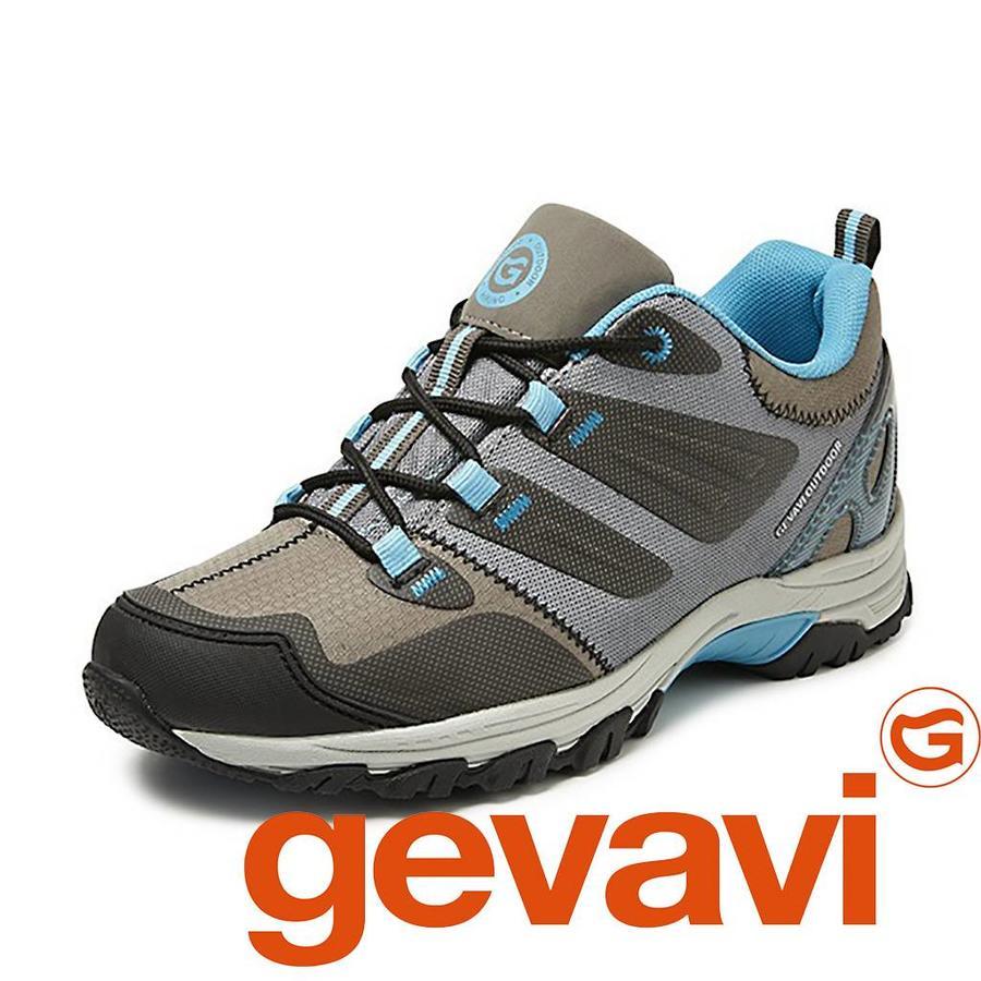 GH01 Linz Groen/Aqua Laag Hiking Schoenen Dames
