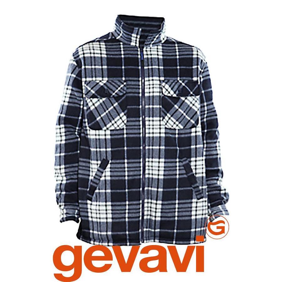 Ten Degrees GT04 Blauw Polar Fleece Jacket Heren