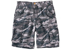Carhartt Rugged Cargo Grey Camo Shorts Heren