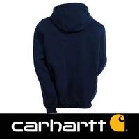 Midweight Zip Hooded Sweatshirt New Navy Heren