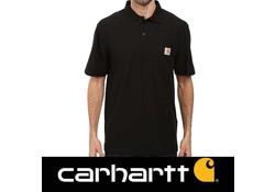 Carhartt Contractor's Work Pocket Black Polo Heren
